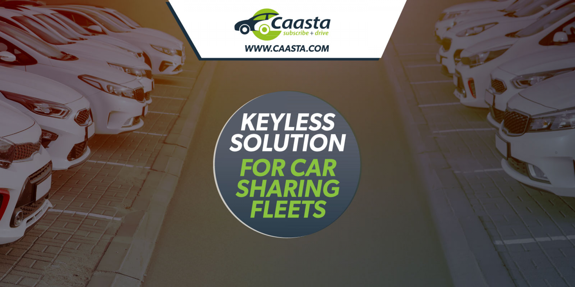 keyless solution for car sharing fleets
