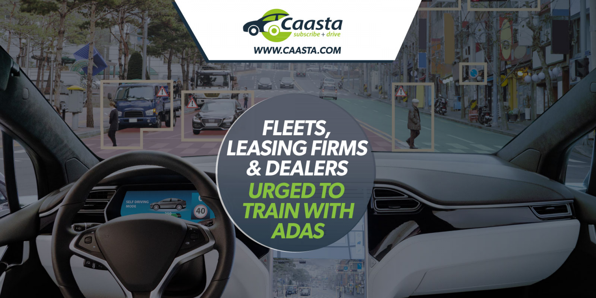 Fleets, leasing firms and dealers urged to train drivers on ADAS