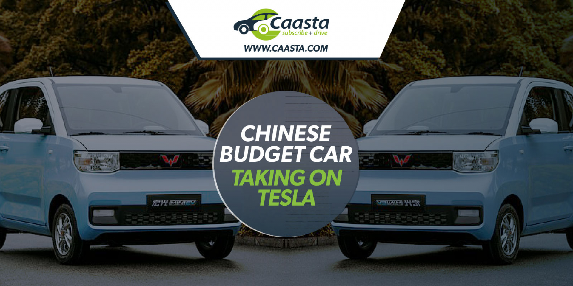 Chinese budget electric car takes on Tesla