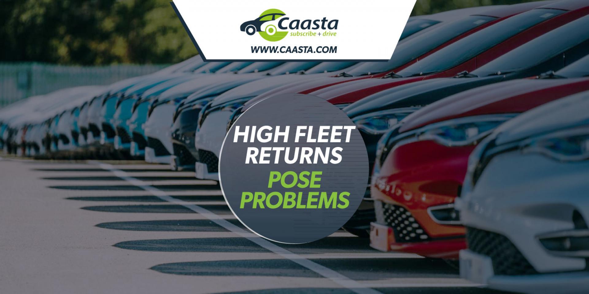 High fleet returns pose problems for businesses