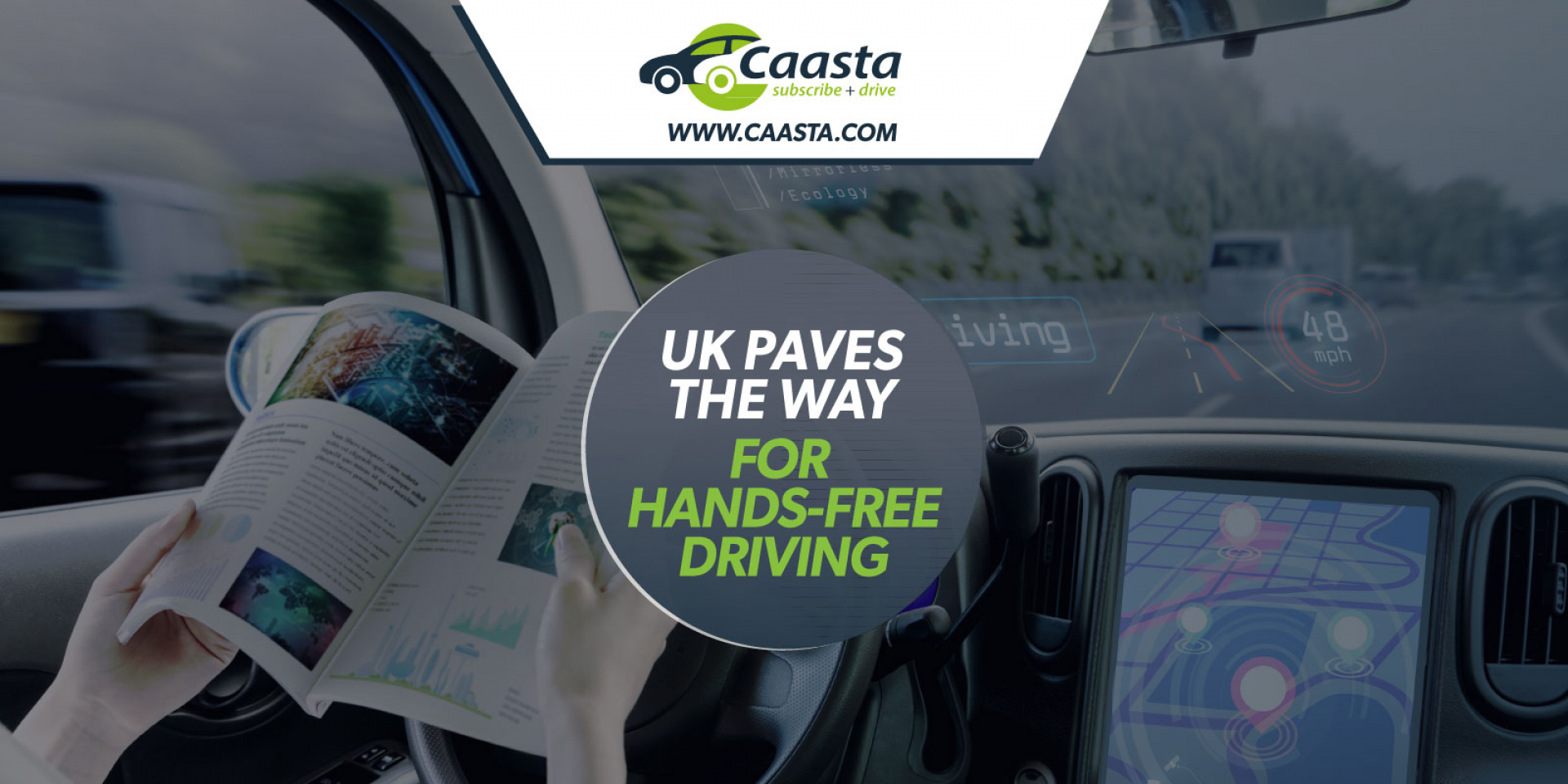 Government paves the way for hands-free driving on UK motorways