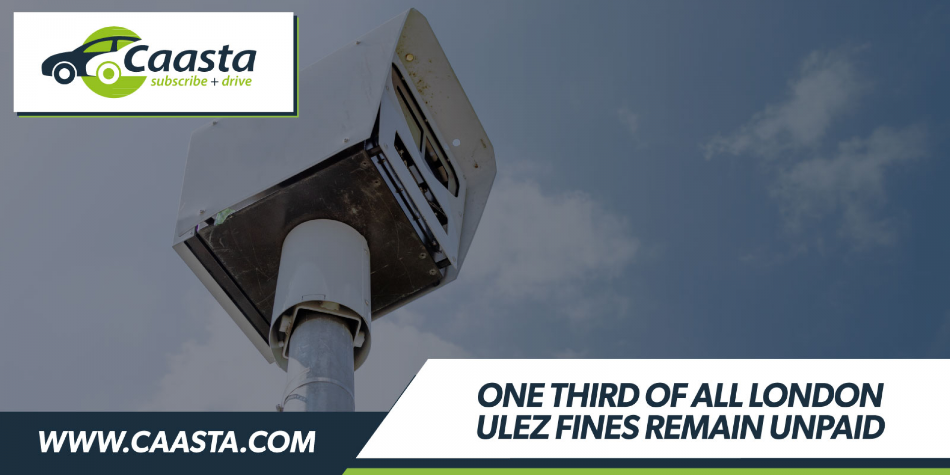 One-third of all Ultra Low Emission Zone (ULEZ) fines issued in London are left unpaid