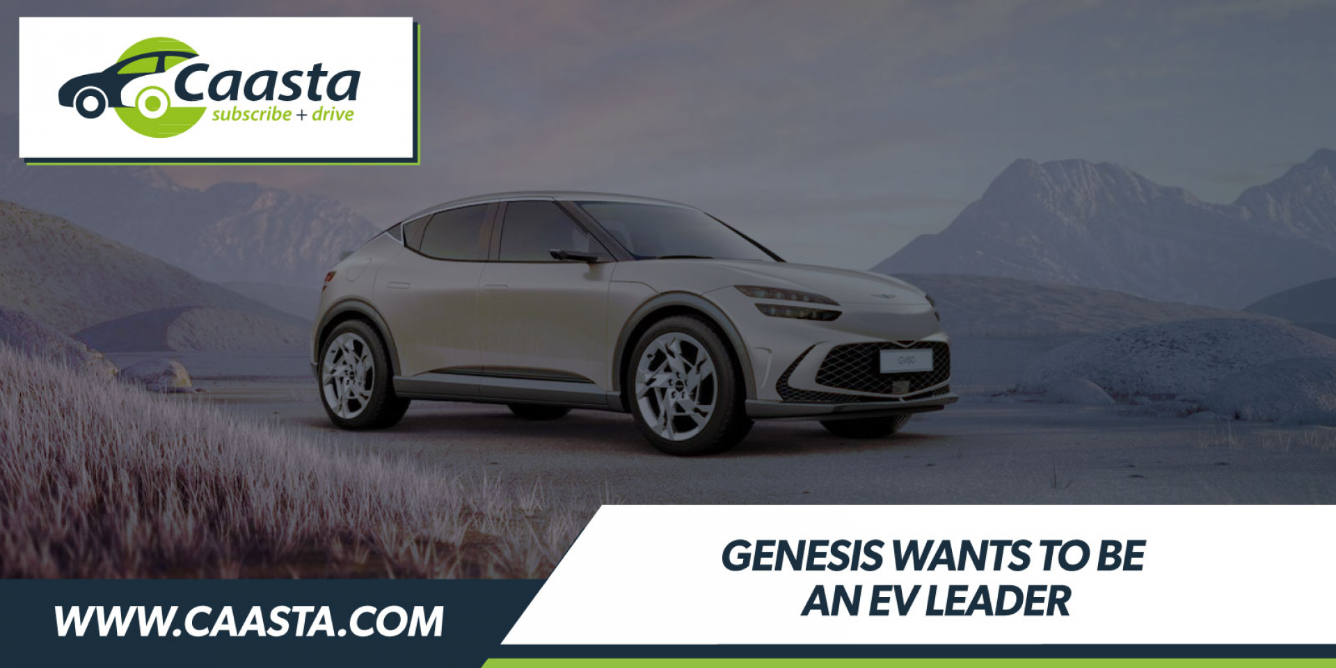 Genesis aims to become an EV leader